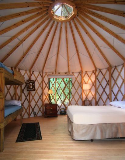 Yurts Rentals in Georgia   Yurt Camping   Pine Mountain ...
